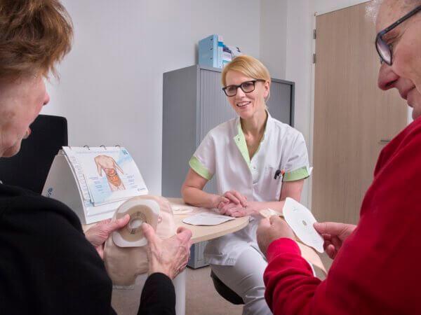 Stomaverpleegkundigen Haga Ziekenhuis