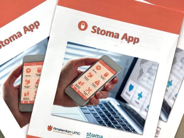De Stoma App folder is uit